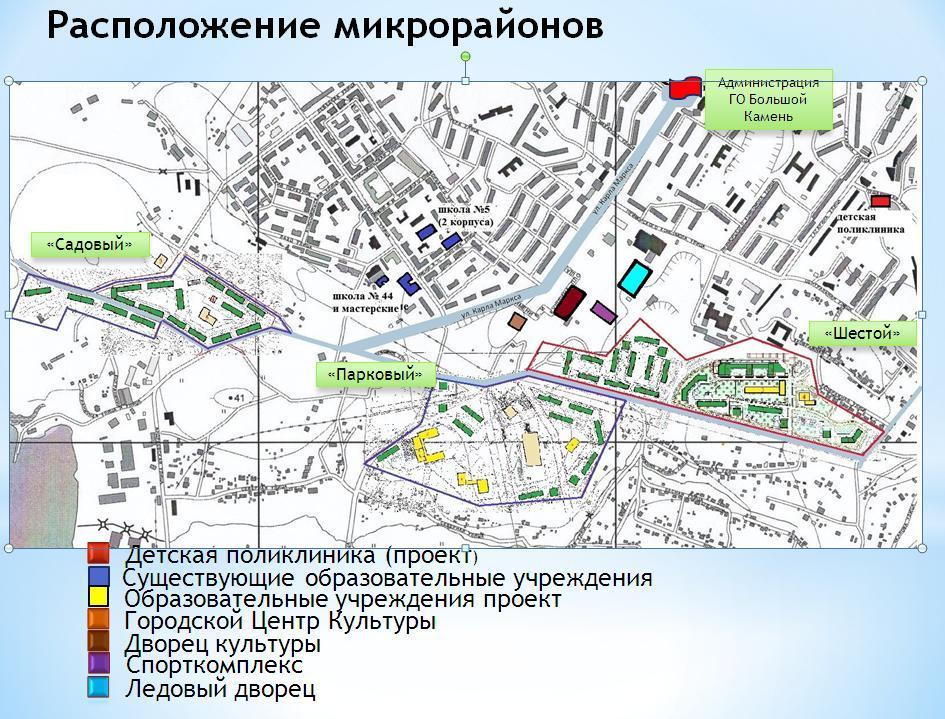 Карте местности