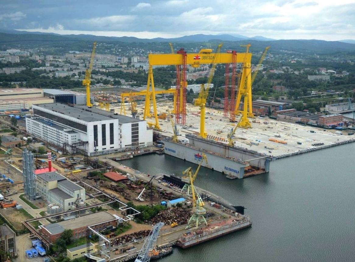 Cудоверфь «Звезда» в Приморье начала строительство третьего танкера-газовоза ледового класса